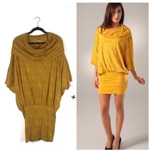 Rachel Pally For Shopbop Yellow Batwing Mini Dress
